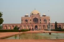 Humuyun's Tomb, the inspiration for the Taj Mahal.