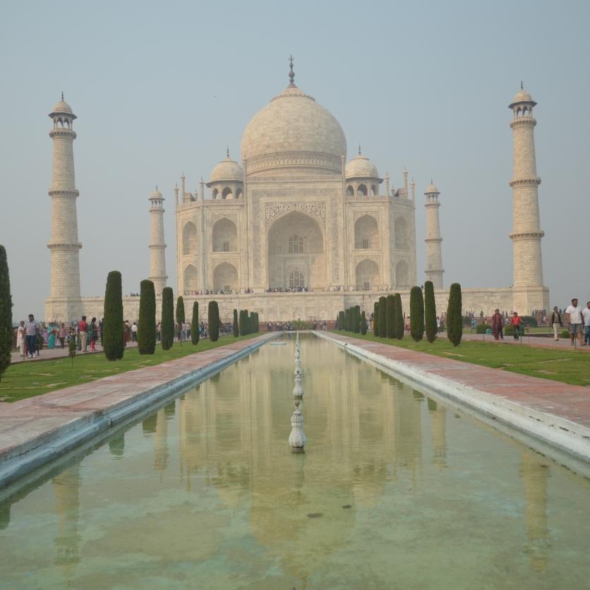 The mighty Taj.