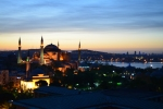 Istanbul at dawn–the only time of day the city sleeps.