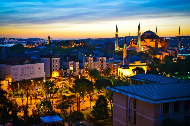 Instabul_Sunrise_Sultanahmet